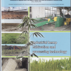 Industrial hemp: cultivation and processing technology