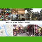 Hang Gai Street. Street of Hemp