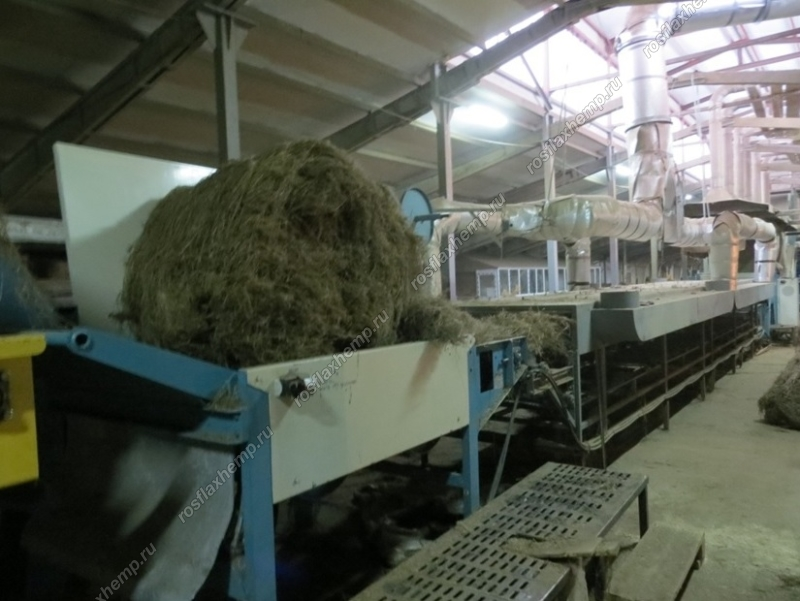 транспортер для льна