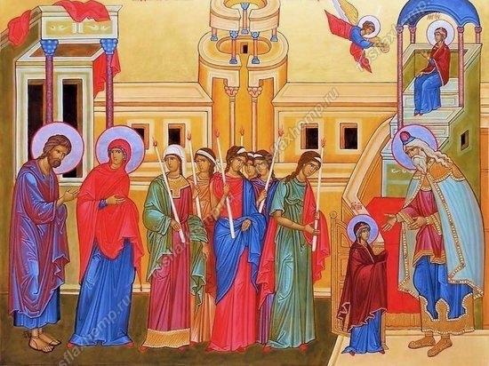 Толкование Евангелия на каждый день года.Введени во Храм Пресвятой Богородицы.